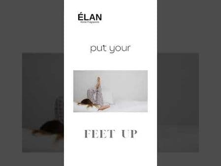 ÉLAN Relax - 3 wick scented candle